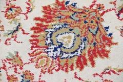 Handmade woven rug Stock Photos