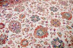 Handmade woven rug Stock Photo
