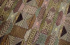 Handmade woven rug Royalty Free Stock Image