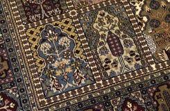 Handmade woven rug Royalty Free Stock Photography