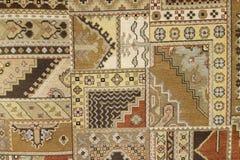Handmade woven rug Stock Image