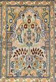 Handmade woven rug Royalty Free Stock Photo