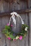 Handmade wreaths Stock Image