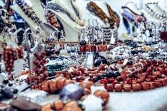 Handmade wristbands ustawiający Obrazy Royalty Free