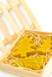 Handmade yellow christmas candles royalty free stock photos