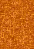 Handmage mexicansk textur Arkivbild