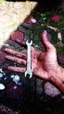 Handman arkivfoto