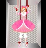 Handmarionette Stockbild