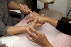 Handmassage Lizenzfreie Stockbilder
