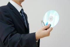 handmedelhöger lagring Fotografering för Bildbyråer
