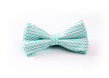 Handmeisje Bow Tie Stock Foto