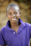 Handome Hatian Teen Portrait. Close-up of a handsome young Haitian teen Royalty Free Stock Photo