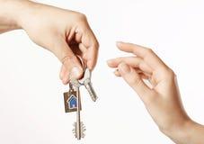Handover the keys Stock Photos