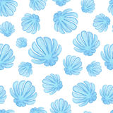 Handpaint-Aquarell schält nahtloses Stockbilder