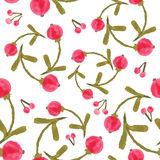 Handpaint watercolor  seamless pattern Stock Photo