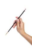 handpaintbrush Fotografering för Bildbyråer