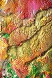 Handpainted Abstrakcjonistyczni guaszy Zdjęcia Royalty Free