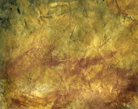 Handpainted Japanese rice paper. Hand dyed and painted textured Japanese rice paper Stock Photo