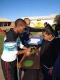 Handpainting África do Sul Foto de Stock Royalty Free