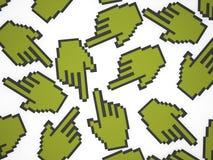 Handpekare Arkivbild