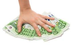 handpengar Arkivbild