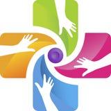 Handpflegelogo Stockbilder