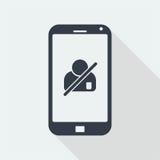 handphone charakteru ludzie, ludzki płaski projekt, ludzie ikon Obraz Royalty Free