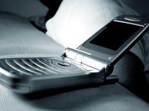 Handphone del tirón foto de archivo libre de regalías
