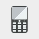 handphone płaski projekt, seo projekt, dolarowy seo projekt Obraz Royalty Free