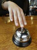 Handpressen ein alter Service Bell Lizenzfreie Stockfotos