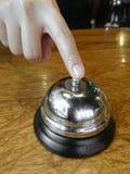Handpressen ein alter Service Bell Lizenzfreie Stockfotografie