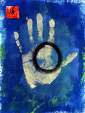 handprint健康 库存图片