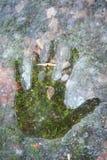 Handprint весны Стоковые Фото