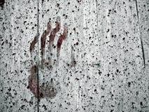 Handprint Imagem de Stock