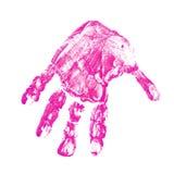 Handprint Stock Photography