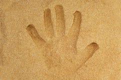 Handprint Royalty Free Stock Image
