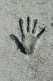 handprint 库存照片