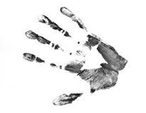 Handprint Imagen de archivo