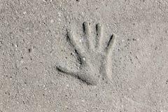 Handprint Стоковые Изображения