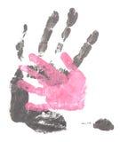Handprint Stock Afbeelding