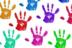 Handprint Royalty Free Stock Images