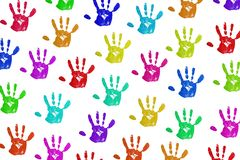 Handprint Stock Photos