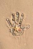 Handprint Photographie stock