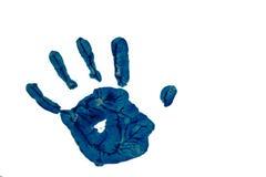 Handprint Στοκ εικόνες με δικαίωμα ελεύθερης χρήσης