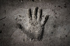 Handprint Stock Images
