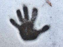 Handprint Immagine Stock Libera da Diritti