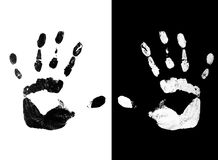 Free Handprint Royalty Free Stock Images - 9063249