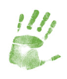 Handprint illustration design Royalty Free Stock Photo