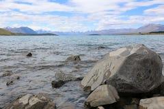 Handprint Rocks Royalty Free Stock Image