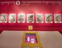 Handprints знаменитостей Стоковые Изображения